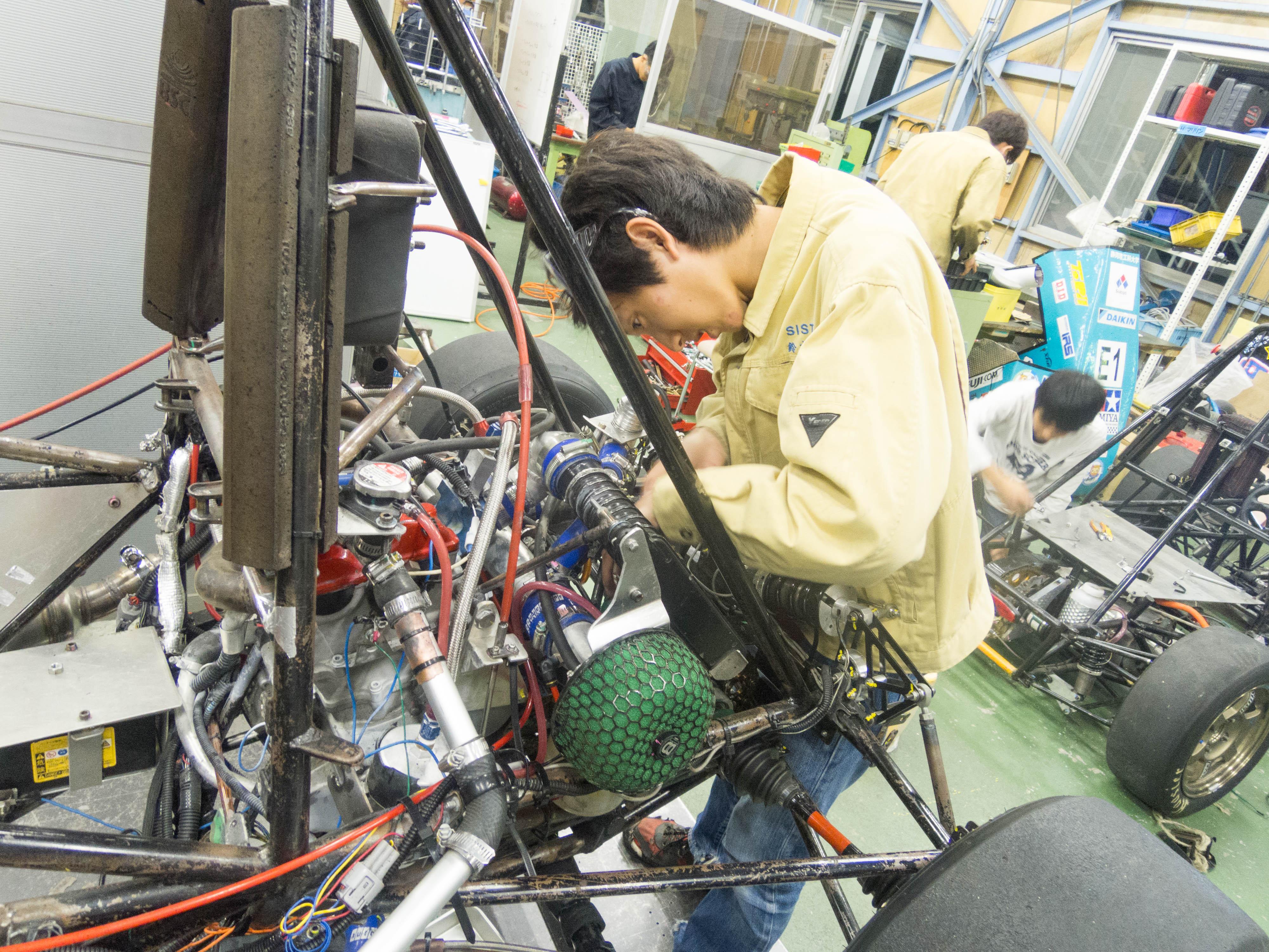 静岡理工科大学自動車部